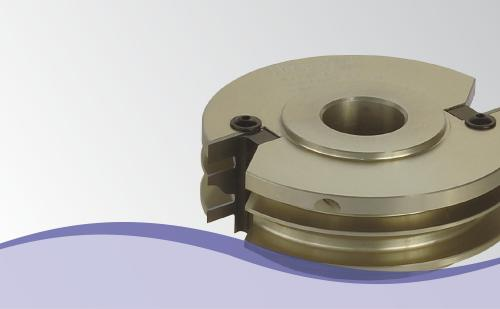 Counter profile cutter heads