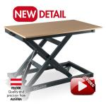 FELDER® FAT 300 level lifting table  Without worktop surface