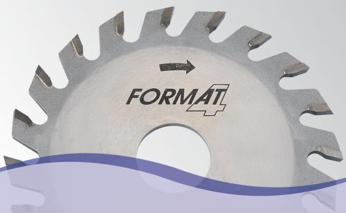 End cutting and grooving saw blades
